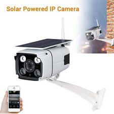 Solar Power Ip Camera Camcorder WiFi Hd Security Cctv Recorder For Ios Android