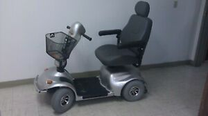 4-Wheel Electric Scooter - Unused - Silver - Golden Technology AVENGER GA 541 HD