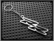 Keyring for HONDA CBR RR FIREBLADE - Stainless Steel, Hand Made, Chain Loop Fob