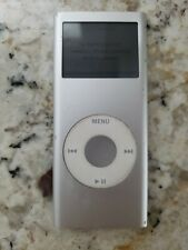 Apple iPod Nano 2nd Gen 4GB Model A1199 Silver Works Perfect