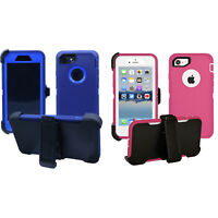 FOR iPhone 8 7 / 7 PLUS  HOLSTER BELT CLIP COMBO CASE COVER W/KICKSTAND