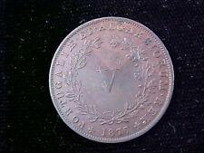 Portugal 1877 5 Reis KM#513  Nice brown luster