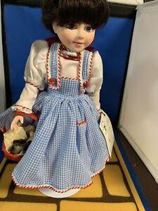 Robin Woods Dorothy -Judy Garland Doll 14inch Signed Mint Shape Original 1988