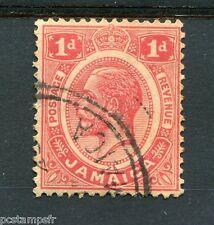 JAMAIQUE, 1912-19, timbre CLASSIQUE 58, GEORGE V, oblitéré