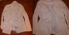 BENETTON GIACCA JACKET- size: M - TRENCH - SPRING  - PRIMAVERA - COTONE - WOMAN