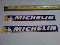 2 Michelin Tire Decals Sticker Shroud Graphics Swingarm decal Factory Race Bike