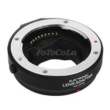 Auto focus AF adapter for 4/3 lens to Olympus pen Panasonic micro 4/3 M4/3 MMF1