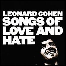 LEONARD COHEN - SONGS OF LOVE AND HATE D/Remaster CD w/BONUS Track *NEW*