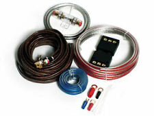 Vibe 8 Gauge 1500W Amplifier Amp Active Bass Wiring Kit