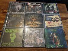 Horrorpunk  CD sammlung- 14 stück fiend neu,ovp horrorpunk ,psychobilly ,gothic