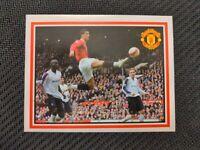 Panini 2007 Cristiano Ronaldo Manchester United scarce sticker #S