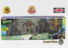Ninja Turtles Mutations Mix 'n Match Figures 4pack TMNT Set
