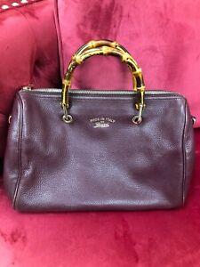 Gucci Bamboo Shopper Boston Bag!
