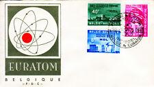 Belgien 1255-57 FDC, EURATOM-CEPT