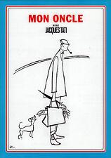 "Mon Oncle 1958 (Jacques Tati) R2002 Japan B5  Chirashi 7""X10"" Poster"