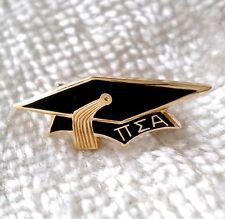 Vintage 10K Gold Pi Sigma Alpha Graduation Cap Pin Sorority Fraternity Honor Soc