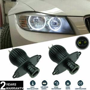 2x 20W LED Angel Eyes Halo Ring Bulbs Kit CREE XTE For BMW E90 E91 LCI 2008-2011