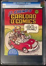 R. Crumb's Carload O'Comics (1976) CGC 9.0 NO HIGHER GRADE!!!