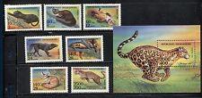 MADAGASCAR 1995, WILD ANIMALS, FAUNA, Scott 1182-1189, MNH