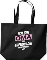 große Einkaufstasche, Ich bin Oma weil Superheldin keine Option ist,