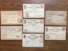 7x Late 19thC  Finland - 10 Pennia Postal Stationery  ~ ref215