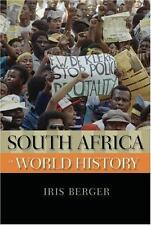 South Africa in World History by Iris Berger (2009, Paperback)