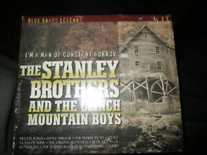 THE STANLEY BROTHERS & THE CLINCH MOUNTAIN BOYS - I'M A MAN - 3XCDs 2002 42 TRAX