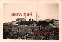 Franz. Bunker Maginotlinie an der Grenze Belgien