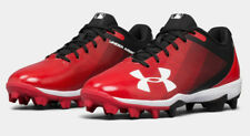 Under Armour Boys UA 2019 Leadoff Low RM Youth Baseball/Softball Molded Cleats