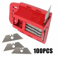 Trapezklingen 100 Stück Cutterklingen Klingen Ersatzklingen Trapezform