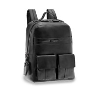 Zaino The Bridge Backpack pelle uomo apertura zip 38x11x30 cm 0641006O