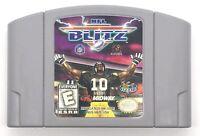 NFL Blitz (Nintendo 64, 1998) N64 Football Game Cartridge Only