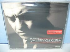 Prokofiev THE COMPLETE SYMPHONIES, Live Rec London SO/V Gergiev, 4CD Philips New