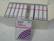 10 x zonale Nuovo Di Zecca Sigillato Studio Qualità 94min DAT Digital Audio Cassette a nastro