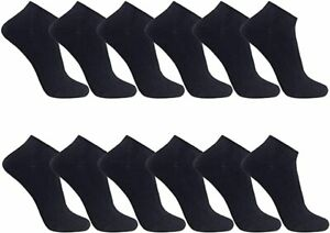 *New* Low Cut Ankle Trainer Socks for Ladies Sport Socks Pack of 3,6, &12