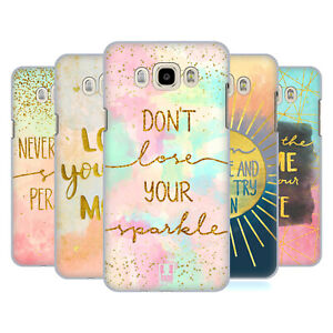HEAD CASE DESIGNS GOLD QUOTES BACK CASE FOR SAMSUNG PHONES 3
