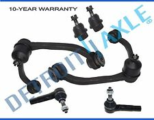Pair Front Upper Control arms ball joints tie rods 2005-2010 Dodge Dakota RWD
