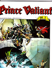 "Prince Valiant Vol 2-1988-Strip Reprints Soft Cover-"" Singing Sword -1st Print """