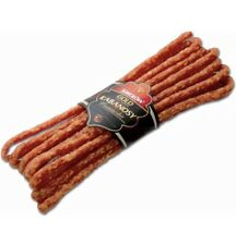 SOKOLOW Kabanosy Francuskie,Cooked,smoked And Dried Pork Sausage ( 1 Pack )