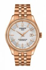 NEW TISSOT BALLADE AUTOMATIC COSC CERTIFIED ROSE GOLD PVD T108.408.33.037.00