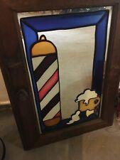 Bathroom Hanging Medicine Shaving Barber Shop Cabinet Mirror