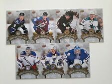 Lot of 7 2010-11 UD Series2-AMBASSADORS OF THE GAME-DOUGHTY+MARLEAU+LUNDQVIST