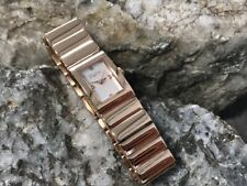 SMALL Clogau Rose Gold Rose Plated Ladies Diamond Watch £430 off! 12.5cm