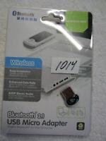 Iogear  Bluetooth 2.1 USB Micro Adapter   GBU421  GBU 421  item  K @ S # 1014