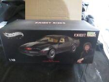HOTWHEELS ELITE Knight Rider K.I.T.T. (échelle 1:18) Coffret!!! endommagé!!!