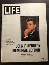 1963 LIFE Magazine JOHN F KENNEDY 1917-1963 MEMORIAL Edition President KENNEDY