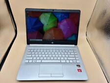 """New listing Hp 14-dk1025wm 14"""" Laptop, Ryzen 3 3300U, 4Gb Ram, 1Tb Hdd, Win 10 Home"""