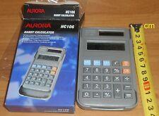 Handy Calculator HC106 Aurora new unused, solar