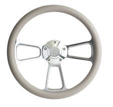 1974-1994  GMC C-Series Pick-Up Truck - Gray & Billet Steering Wheel - Full Kit
