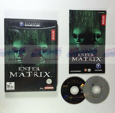 Enter The Matrix - RARE (Near MINT Disc) Nintendo GameCube Wii PAL [TESTED]